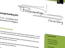 Posaunentage Vorarlberg 2014