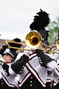 US Marching Band - Posaune © Mark Herreid-Fotolia.com